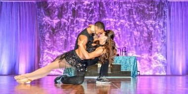 2015 Dancing with the Desert Stars winners Bianca Rae and Joshua King