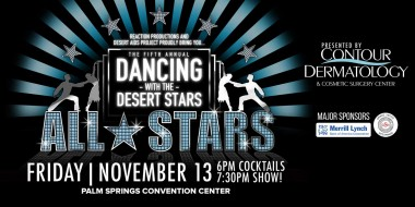 Dancing with the Desert Stars All-Stars Friday November 13 in Palm Springs