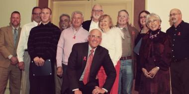 Group at Volunteer Appreciation Dinner 2013