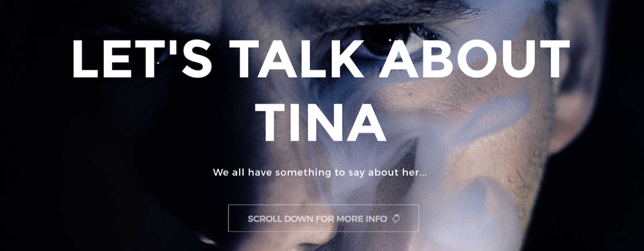 Let's Talk about Tina Header