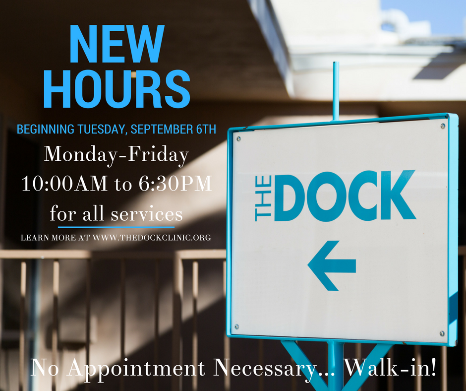 The DOCK New Hours