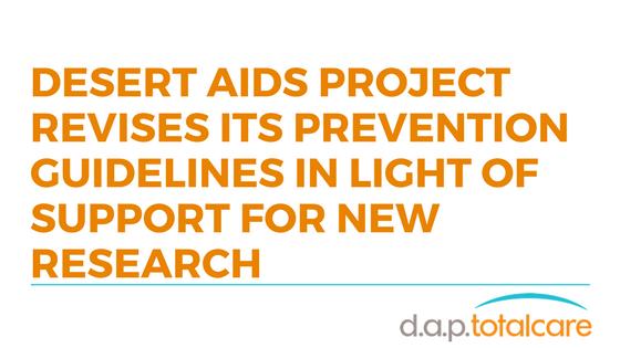 Desert AIDS Project revises