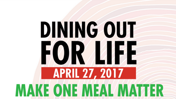 Dining Out For Life® 2017 Participation …