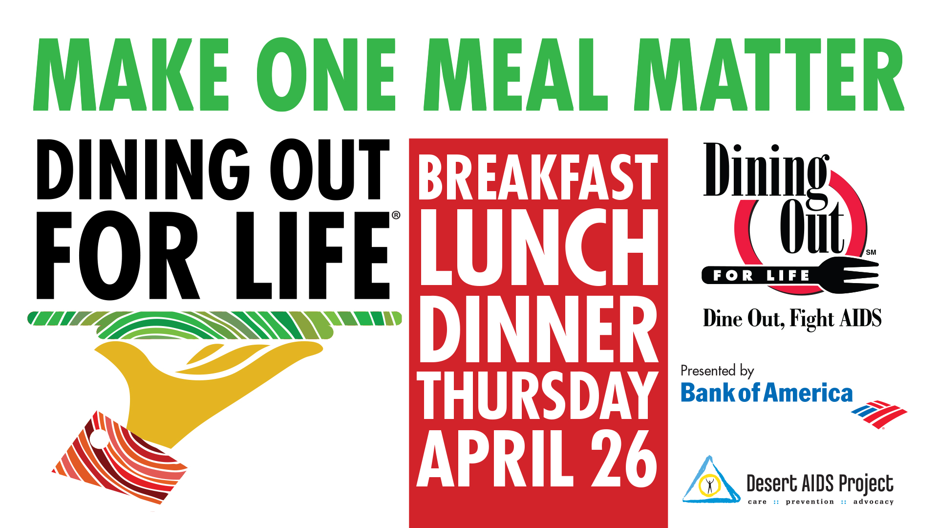 Dine Out for Life – April 26, 2018 Loc …