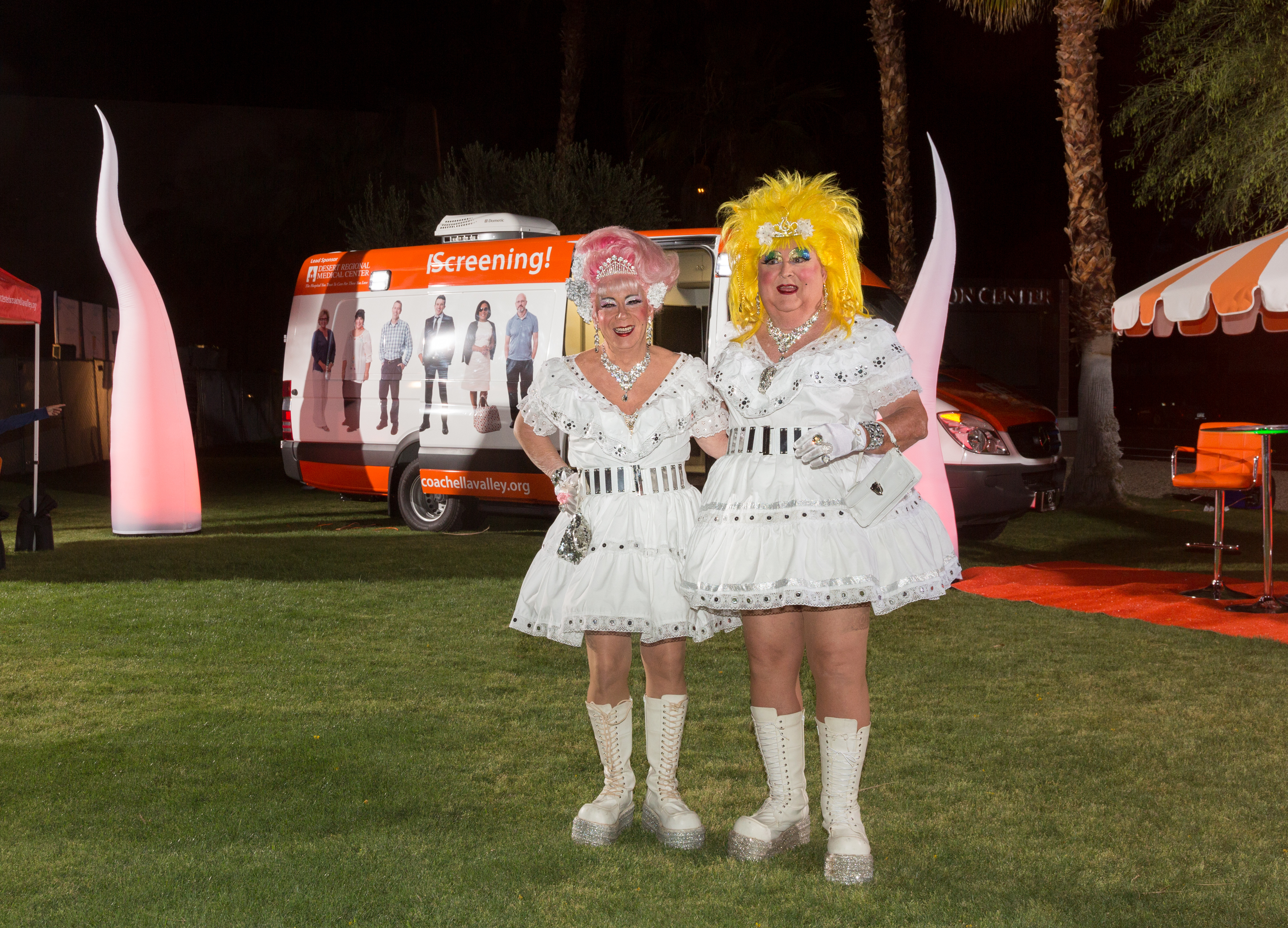 At White Party 2018: HIV and HCV Tests,  …