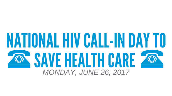 National HIV Call-In Day to Save Our Hea …