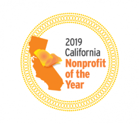 2019 California Nonprofit of the Year logo
