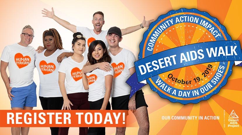 "2019 Desert AIDS Walk  ""Walk a Day in  …"