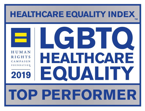 HRC LGBTQ Healthcare Equality 2019 Top Performer