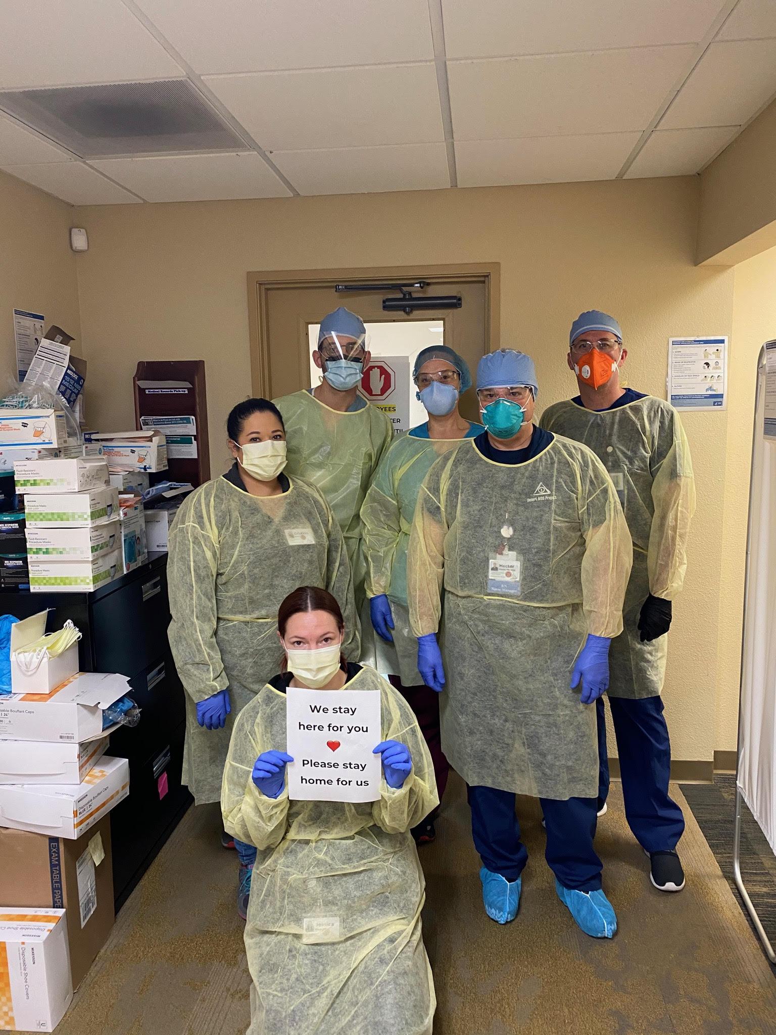 DAP Staff Ready for Coronoavirus