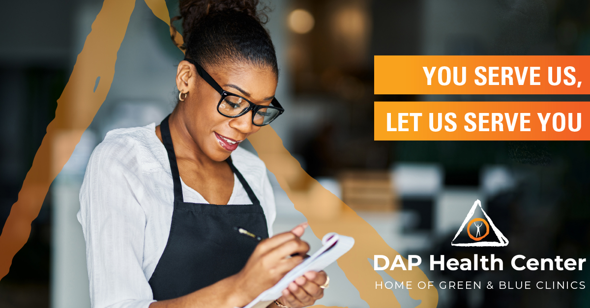 Get Insurance and Care with DAP — In J …
