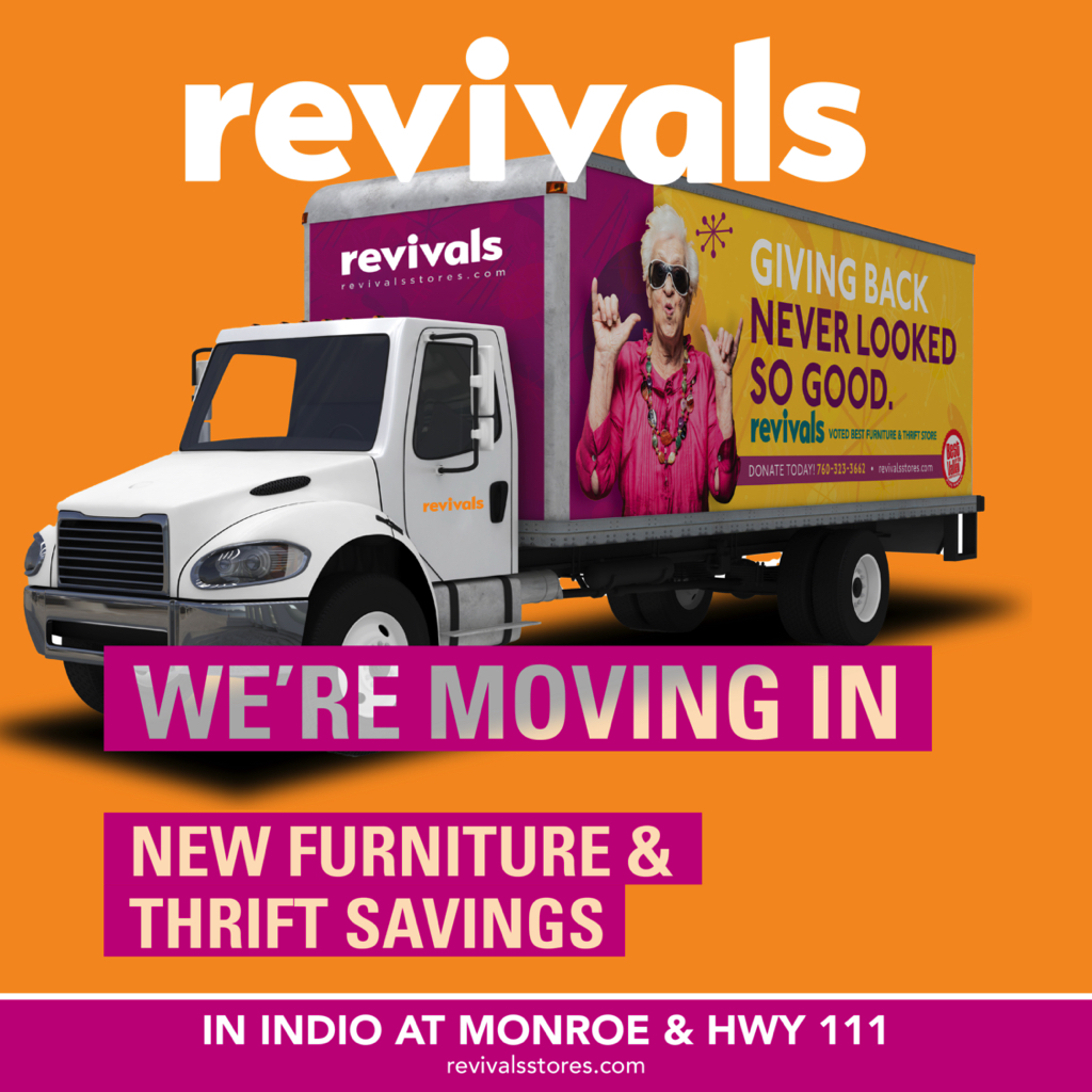 New Revivals Indio Opening May 15