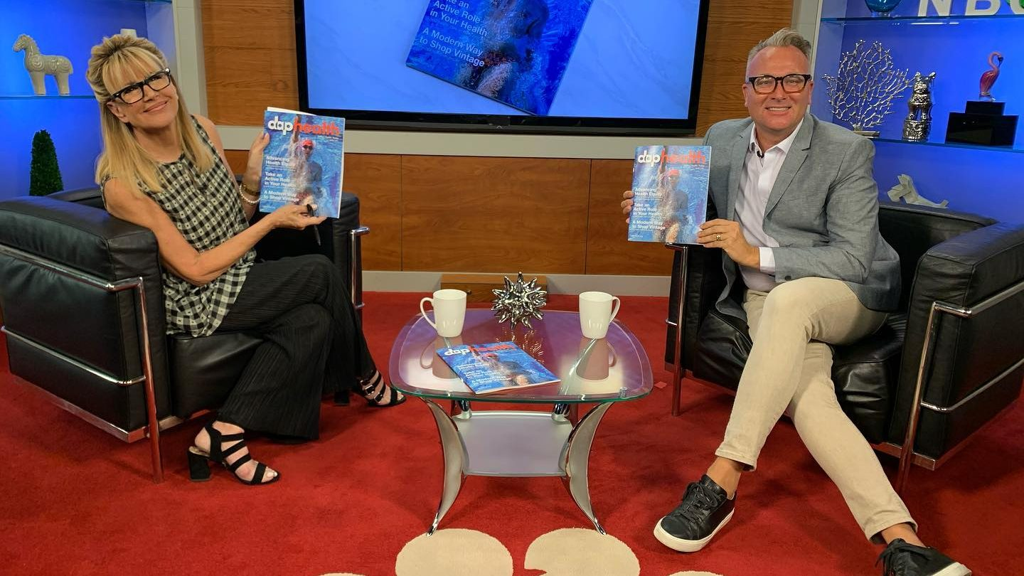 Steve Henke speaks with Sandie Newton about the first edition of DAP Health magazine, which is available at DAP Health clinics; Palm Springs Chamber of Commerce; Arenas Road; and Revivals stores in Palm Springs, Cathedral City, Palm Desert, and Indio.